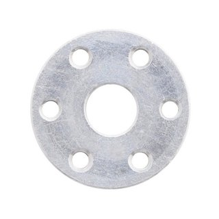Universal Aluminum Mounting Hub for 8mm Shaft, M3 Holes (2-Pack)