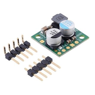Pololu - 12V, 2.2A Step-Down Voltage Regulator D24V22F12 400kHz 17.8mm × 17.8mm × 8mm Reverse Polarity Protection & Heat Protection