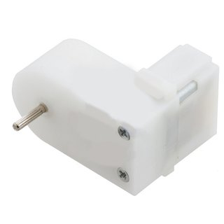 Pololu 120:1 Mini plastic geared motor, offset 2mm spline shaft output, 120U/min, 80mA, 4,5V