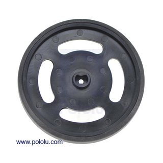 Solarbotics GMPW-B Black Wheel