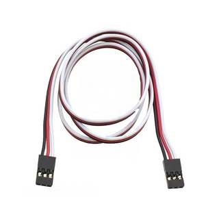Pololu servo extension cable 60cm Female, JR connector, 22-AWG, suitable for RC hobby servos
