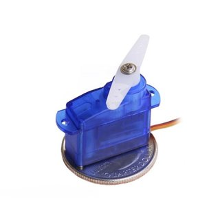 Pololu Sub-Micro Servo 3.7g (Generic) 0,07 sec/60°, Weight: 3,7g for RC model making applications