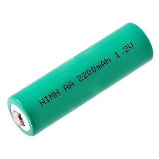 Pololu - Rechargeable NiMH AA Battery: 1.2 V, 2200 mAh, 1 cell for small to medium robots