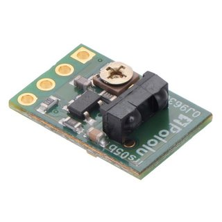 Pololu 38 kHz IR proximity sensor, fixed setting, low brightness, 30cm range IR-LED with oscillator circuit