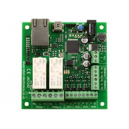 Devantech - 2 x 16A Ethernet relays dS1242 12V-DC, 2...