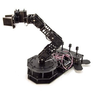 RobotGeek Core-Kit Robot Arm Snapper Gripper Arm, controllable by Geekduino / Arduino, 50g payload, 28.5cm reach