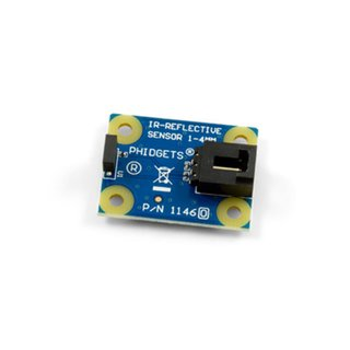 Phidgets - IR reflection sensor 1-4mm for smooth opaque surfaces 5V and 50mA