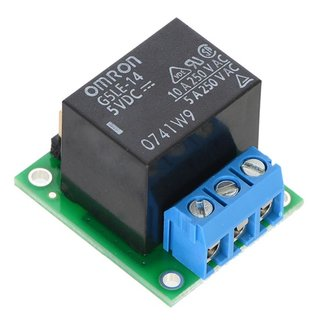 Pololu 2480 base SPDT relay carrier with 5VDC (Omron G5LE-14-DC5) relay (mounted)