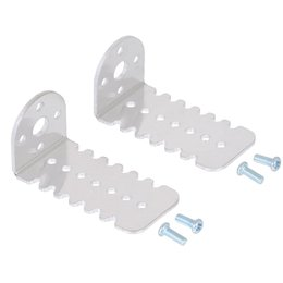 Pololu 25 x 25 mm aluminium gear motor holder 2 pieces...