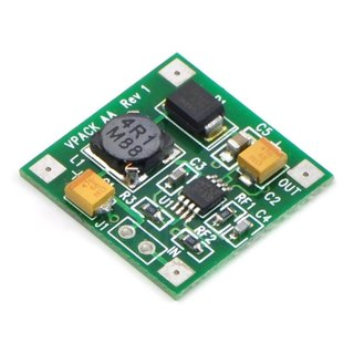 Pololu - Bodhilabs VPack, Boost regulator Board with 5V > 300mA power