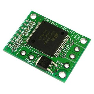 Pololu HP Motor Driver Carrier VNH2 14A continuous load single motor controller 5V logic level ultrasonic PWM