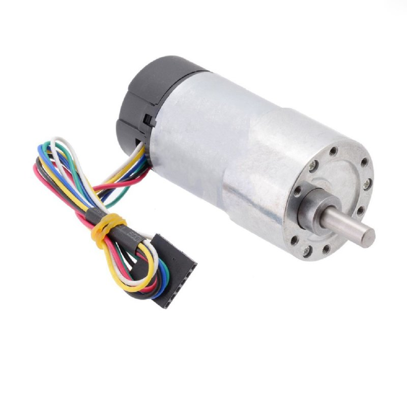 Encoder Metal Gear Motor DC 12-24V with Dual Channel Encoder for Robot