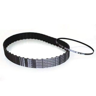 Optibelt timing belt 85-175MXL flexible tension elements made of glass fibre, abrasion-resistant protective fabric, resistant to oil, heat, cold, flat timing belts made of polyamide