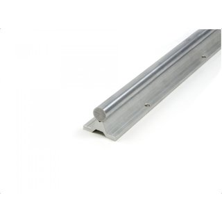 Phidgets Linear Rail Linear rail 16mm steel shaft 300mm length C45 steel and aluminum base