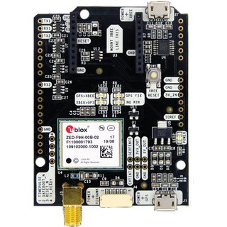 Ardusimple simpleRTK2B-F9H evaluation board for connection to simpleRTK2B or simpleRTK2Blite compatible with Arduino and STM32 Nucleo